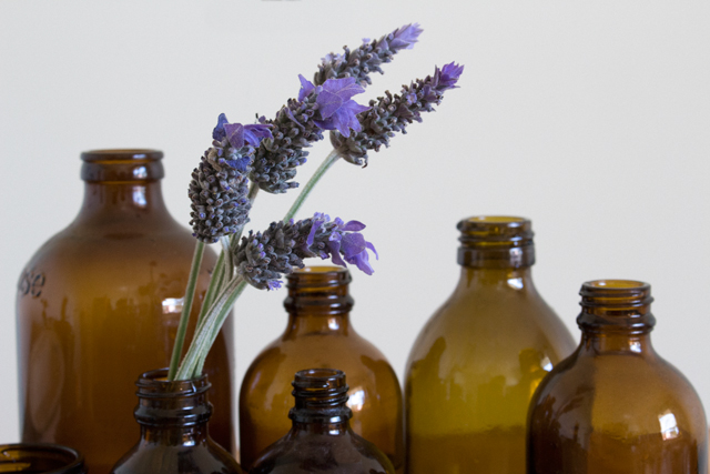 Lavender and Naturopathy Bottles